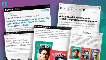 La biografía de Trotsky de la que se habla en los grandes medios