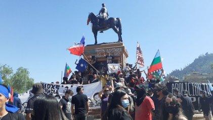 Miles marcharon en Chile por las demandas del pueblo mapuche