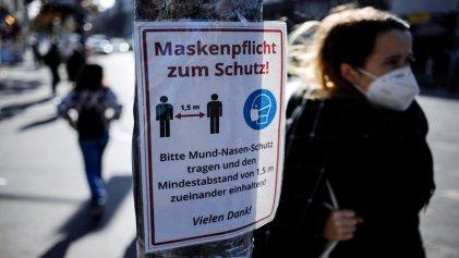 Alemania supera los 20.000 casos diarios de Covid-19 y temen colapso sanitario