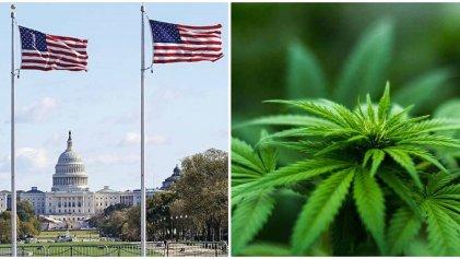 La Cámara Baja de EE. UU. dio media sanción a ley para despenalizar la marihuana