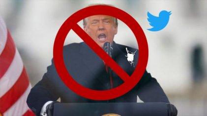 Twitter suspendió permanentemente la cuenta de Trump