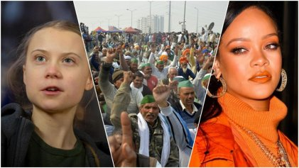 La lucha más grande del mundo: Rihanna y Greta Thunberg apoyan a los agricultores en India