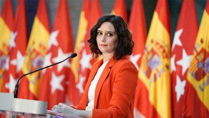 Isabel Ayuso renunció a la presidencia de la Comunidad de Madrid y llamó a elecciones anticipadas
