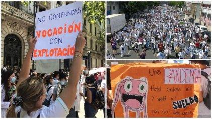 Residentes y concurrentes: marchemos el 24 de marzo contra la precarización heredada de la dictadura
