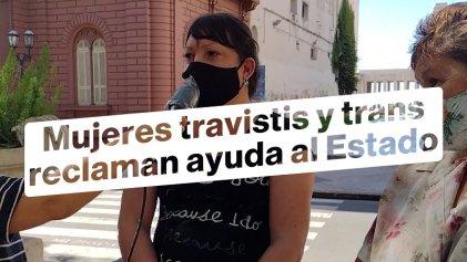 Mujeres travestis y trans marcharon para exigir al Gobierno cupo laboral en Rosario