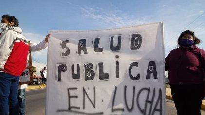 Trabajadores de la salud de Río Negro llevaron acciones en la provincia