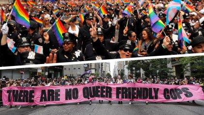 Orgullo sin policías: les prohíben participar en la marcha de Nueva York