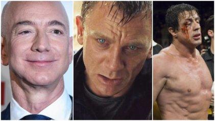 Jeff Bezos, segundo hombre más rico del mundo, ahora es dueño de James Bond y Rocky Balboa