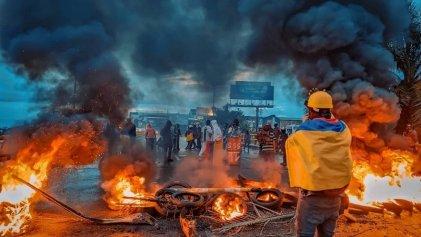 """Colombia: """"Nos atacaron así, a quemarropa"""""""