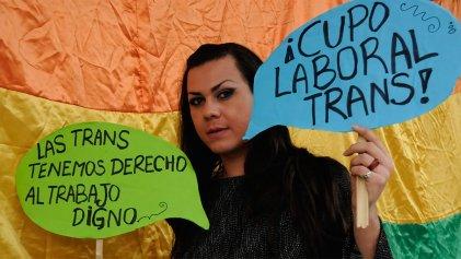 Es ley: el Senado aprobó el cupo laboral trans