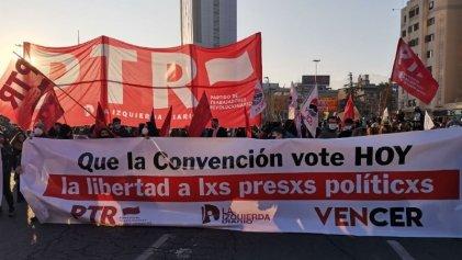 Chile: la Constituyente discutirá sobre los presos políticos tras el día inaugural con represión