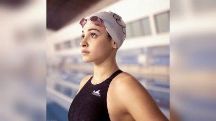 Yusra Mardini, la nadadora refugiada que salvó a 19 personas en el Egeo, compitió en Tokio 2020