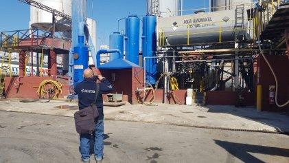 Parque industrial de Burzaco: clausuran una industria química por contaminar el Arroyo del Rey