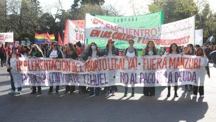 Mujeres y disidencias en La Plata: repudiaron a Manzur y exigieron la aparición de Tehuel