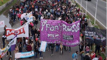 La Plata: cortaron la autopista para reclamar la aparición de Tehuel