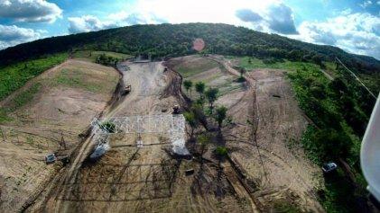 Clausuran por desmontes ilegales las obras del Orfeo Park