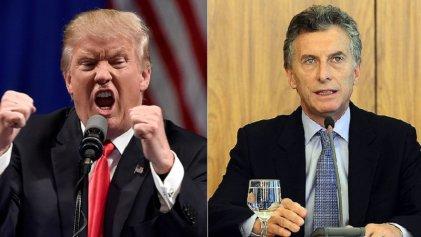 El plan económico de Macri, asediado por los efectos de Trump