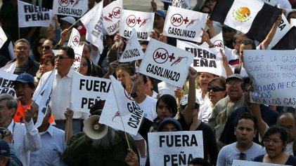 Once días de movilizaciones en todo el país en contra del gasolinazo mexicano