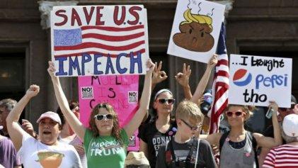 Miles en las calles contra Trump