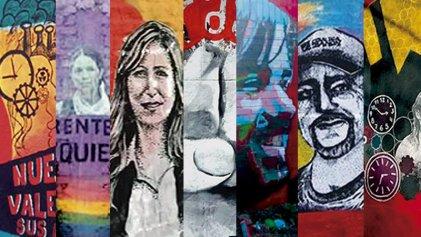 La creativa campaña de murales por el Frente de Izquierda en todo el país
