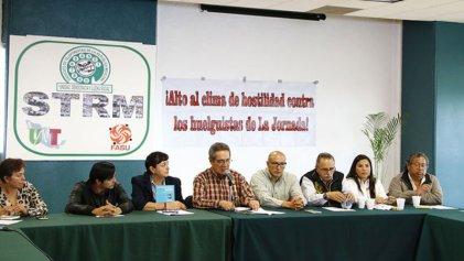 Trabajadores despedidos de La Jornada anuncian movilizaciones