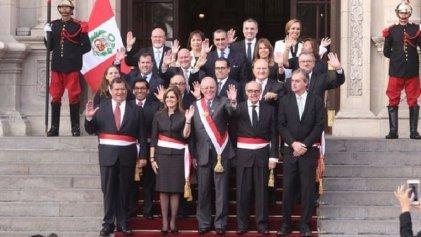 Nuevo gabinete en el Perú