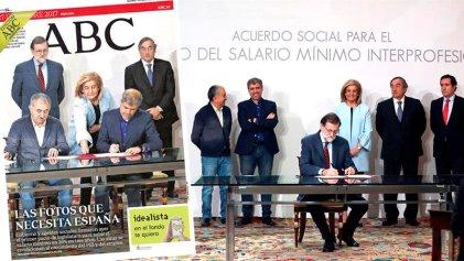 Gobierno español, patronal y sindicatos pactan vergonzoso aumento salarial