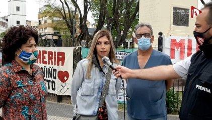 Los empleados municipales de La Matanza pasaron su día peleando en las calles