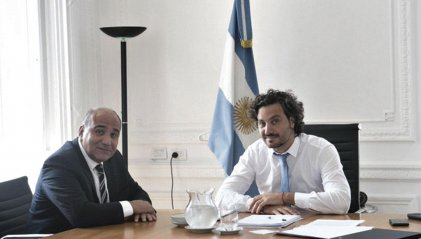 Manzur con Cafiero: ninguna medida por las inundaciones en Tucumán