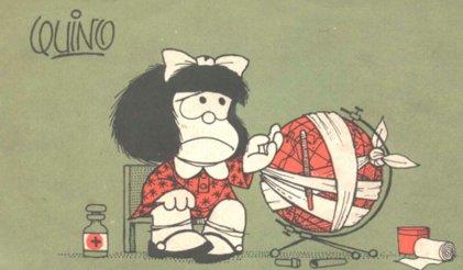 Mafalda, la contestataria cumple 51 años