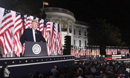 Trump dice ser el salvador del sueño americano en la última noche de la Convención Republicana