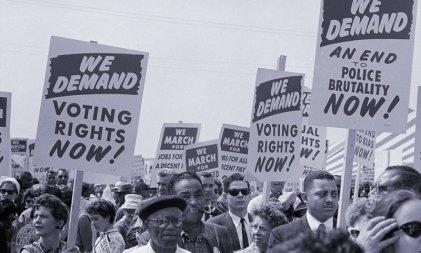 Las raíces racistas del sistema electoral estadounidense