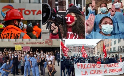 Coronacrisis: 5 luchas obreras en el mundo que tenés que conocer