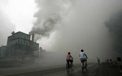 Históricas olas de contaminación en China