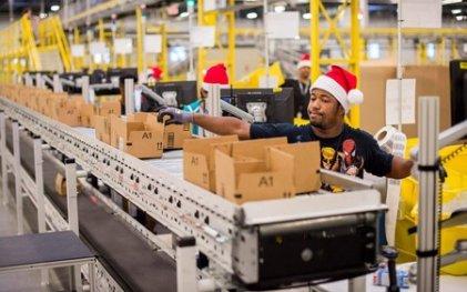 Trabajadores y trabajadoras de Amazon se manifiestan por mejoras de seguridad contra el Covid-19