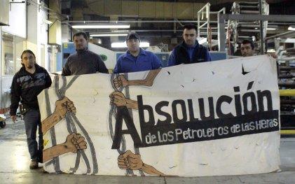 Ramón Cortés conoció por dentro Madygraf, la fábrica que paró por su libertad
