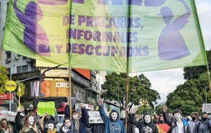 #TrabajoConDerechosParaTodxs: el grito de la juventud en una nueva acción de La Red