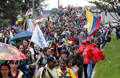 Tercer paro nacional y nuevas movilizaciones en Colombia contra Duque