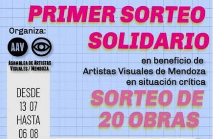 Artistas Visuales de Mendoza se organizan ante la crisis del sector