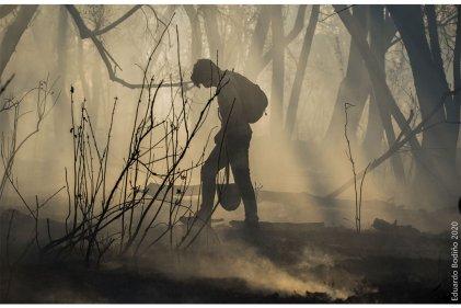 Imágenes de la lucha contra las quemas del agronegocio