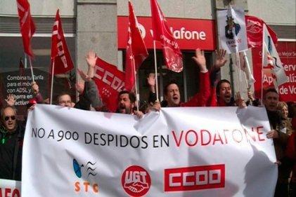 Vodafone se propone despedir a mil trescientos trabajadores en el Estado español