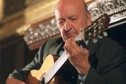Eduardo Falú, una voz y una guitarra