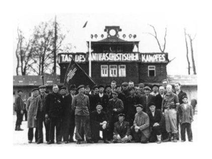 74 años de la liberación del campo de concentración de Buchenwald