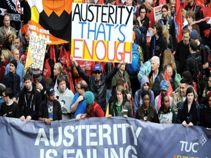 20J: Marcha Nacional contra la Austeridad en Londres