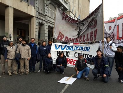 Obreros sin patrón se movilizaron en apoyo a Zanon