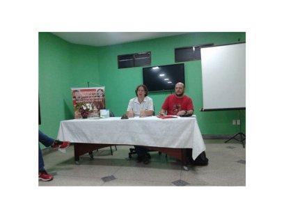 Conferencia de Christian Castillo en sindicato docente del nordeste brasilero