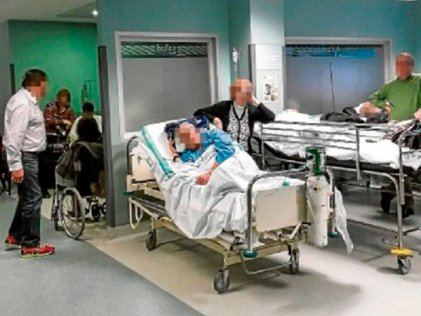Una vez más colapsan las urgencias del Hospital Miguel Servet en Zaragoza