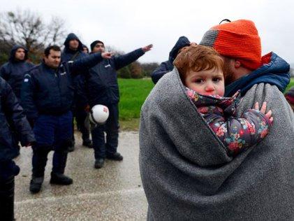 Protestas contra el acuerdo entre Turquía y la UE sobre los refugiados