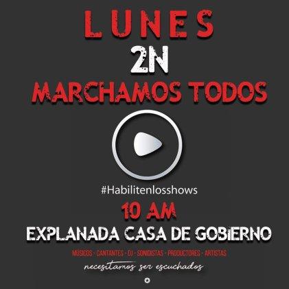 Mendoza: trabajadores y trabajadoras de la cultura piden trabajar