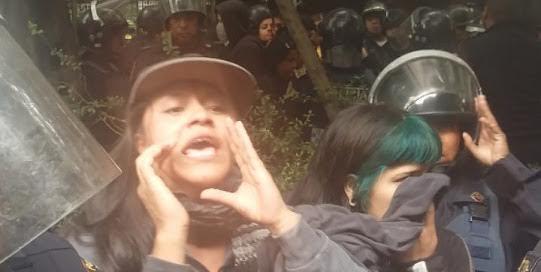 Agresión sexual a detenidas por policía de Mancera